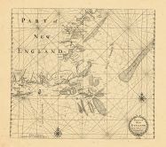 Map - Page 1 - PART OF/NEW/ENGLAND/Sold by I. Thornton at ye/Platt in the Minories./And by Will- Fisher/at ye Posturn gate on/ Tower Hill./London, PART OF/NEW/ENGLAND/Sold by I. Thornton at ye/Platt in the Minories./And by Will- Fisher/at ye Posturn gate on/ Tower Hill./London