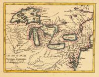 Map - Page 1 - LES LACS DU CANADA et NOUVELLE ANGLETERRE, LES LACS DU CANADA et NOUVELLE ANGLETERRE