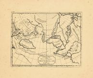 Map - Page 1 - A General Map/of the/DISCOVERIES/of/Admiral DE FONTE and others,/BY/M.De l'isle, A General Map/of the/DISCOVERIES/of/Admiral DE FONTE and others,/BY/M.De l'isle
