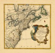 Map - Page 1 - MAPPA/GEOGRAPHICA/AMERICAE/SEPTENTRIONALIS/ad emendatiora Exemplaria/adhuc edita/jussu/ACAD. REG. SCIENT. et./ELEG. LITT./descripta./Pars. II., MAPPA/GEOGRAPHICA/AMERICAE/SEPTENTRIONALIS/ad emendatiora Exemplaria/adhuc edita/jussu/ACAD. REG. SCIENT. et./ELEG. LITT./descripta./Pars. II.