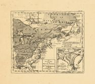 Map - Page 1 - An/Accurate Map/of the/BRITISH EMPIRE/in/Nth AMERICA/as settled by/the Preliminaries in/1762, An/Accurate Map/of the/BRITISH EMPIRE/in/Nth AMERICA/as settled by/the Preliminaries in/1762