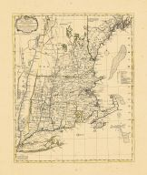 Map - Page 1 - A Map of the most INHABITED part of/NEW ENGLAND,/containing the Provinces of/MASSACHUSETS BAY and NEW HAMPSHIRE,/with the Colonies of/ CONECTICUT AND RHODE ISLAND,/Divided into/Observations., A Map of the most INHABITED part of/NEW ENGLAND,/containing the Provinces of/MASSACHUSETS BAY and NEW HAMPSHIRE,/with the Colonies of/ CONECTICUT AND RHODE ISLAND,/Divided into/Observations.