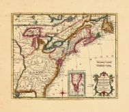 Map - Page 1 - A New MAP of/the/BRITISH DOMINIONS/in/NORTH AMERICA-/with the Limits of the/Governments annexed thereto/by the late Treaty of Peace,/and/settled by Proclamation,/October 7th. 1763., A New MAP of/the/BRITISH DOMINIONS/in/NORTH AMERICA-/with the Limits of the/Governments annexed thereto/by the late Treaty of Peace,/and/settled by Proclamation,/October 7th. 1763.