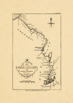 Map - Page 1 - A VIEW/of the/RIVERS/KENEBEC and CHAUDIERE,/with/COLONEL ARNOLD'S/ROUTE to/QUEBEC., A VIEW/of the/RIVERS/KENEBEC and CHAUDIERE,/with/COLONEL ARNOLD'S/ROUTE to/QUEBEC.
