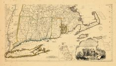 Map - Page 2 - A MAP of/the most INHABITED part of/ NEW ENGLAND,/containing the PROVINCES of/MASSACHUSETTS BAY and NEW HAMPSHIRE./with the COLONIES of/CONECTICUT AND RHODE ISLAND,/DividedASTRONOMICAL OBSERVATIONS, A MAP of/the most INHABITED part of/ NEW ENGLAND,/containing the PROVINCES of/MASSACHUSETTS BAY and NEW HAMPSHIRE./with the COLONIES of/CONECTICUT AND RHODE ISLAND,/DividedASTRONOMICAL OBSERVATIONS