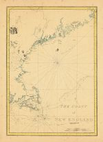 Map - Page 1 - THE COAST/of/NEW ENGLAND, THE COAST/of/NEW ENGLAND