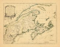 Map - Page 1 - A NEW MAP/of/NOVA SCOTIA/and/CAPE BRETON ISLAND/with the adjacent parts of/NEW ENGLAND and CANADA,/Composed/from a great number of actual Surveys-/and other materials/REGULATED/byAstronomical, A NEW MAP/of/NOVA SCOTIA/and/CAPE BRETON ISLAND/with the adjacent parts of/NEW ENGLAND and CANADA,/Composed/from a great number of actual Surveys-/and other materials/REGULATED/byAstronomical