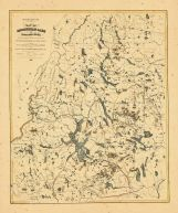 Map - Page 1 - REVISED EDITION./=/MAP OF/MOOSEHEAD LAKE/AND/NORTHERN MAINE,/Embracing the Headwaters of the/PENOBSCOT, KENNEBEC AND ST. JOHN RIVERS,/--/Specially adapted to the Uses of SPORTSMEN and LUMBERMEN./, REVISED EDITION./=/MAP OF/MOOSEHEAD LAKE/AND/NORTHERN MAINE,/Embracing the Headwaters of the/PENOBSCOT, KENNEBEC AND ST. JOHN RIVERS,/--/Specially adapted to the Uses of SPORTSMEN and LUMBERMEN./