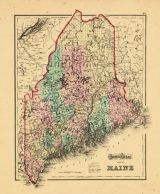 Map - Page 1 - GRAY'S ATLAS/MAP OF/MAINE, GRAY'S ATLAS/MAP OF/MAINE