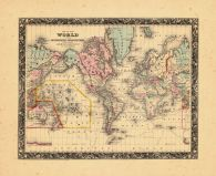 Map - Page 1 - MAP OF THE WORLD ON THE MERCATOR PROJECTION, MAP OF THE WORLD ON THE MERCATOR PROJECTION