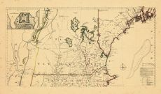 Map - Page 1 - A MAP OF THE MOST INHABITED PART OF NEW ENGLAND,, A MAP OF THE MOST INHABITED PART OF NEW ENGLAND,