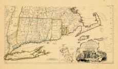 Map - Page 2 - A MAP OF THE MOST INHABITED PART OF NEW ENGLAND,, A MAP OF THE MOST INHABITED PART OF NEW ENGLAND,