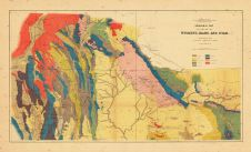 Map - Page 1 - GEOLOGICAL MAP/OF PORTIONS OF/WYOMING, IDAHO AND UTAH., GEOLOGICAL MAP/OF PORTIONS OF/WYOMING, IDAHO AND UTAH.