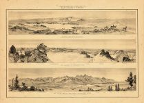 Map - Page 1 - PANORAMIC VIEWS./GLACIAL LAKE/THE GLACIERS/THE TETON RANGE/, PANORAMIC VIEWS./GLACIAL LAKE/THE GLACIERS/THE TETON RANGE/