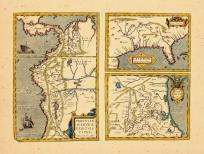 Map - Page 1, Peruviae Auriferae regionis Typus. Didaco Mendezio Auctore.  La Florida. Auctore Hieron...