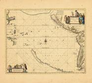 Map - Page 1, Mar del Zur Hispanis Mare Pacificum