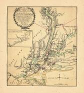 Map - Page 1, The Seat of Action Between the British and American Forces.... Long Island