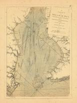 Map - Page 1, A Chart of Delaware Bay, With Sounding s... By Capt. Sir Andrew Snape Hammond