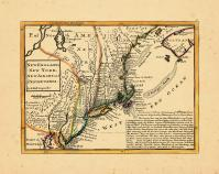 Map - Page 1, New England, New York, New Jersey and Pensilvania