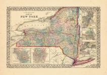 Map - Page 1, County map of the state of New York