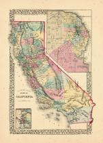 Map - Page 1, County Map of the state of California