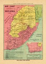Map - Page 1, War Chart showing the battleground in South Africa, 1899 (Boer War)