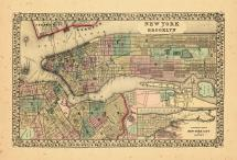 Map - Page 1, New York and Brooklyn