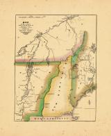 Map - Page 1, Map of the Country which was the scene of operations of the northern army...
