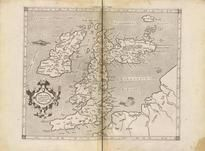 EVROPAE I. TAB: [ALBION, BRITANNI, HIBERNIA] 0163-00, GEOGRAPHIAE LIBRI OCTO RECOGNITI IAM ET DILIGENTER EMENDATI CUM...