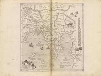 ASIAE XI TAB: 0239-00, GEOGRAPHIAE LIBRI OCTO RECOGNITI IAM ET DILIGENTER EMENDATI CUM...