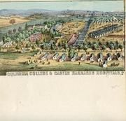 04x069.25 - Columbia College and Carver Barracks Hospitals, Civil War Illustrations from Winterthur's Magnus Collection