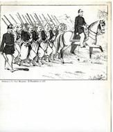 04x069.30 - Soldiers being led by soldier on horse, Civil War Illustrations from Winterthur's Magnus Collection