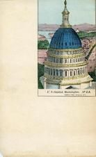 04x083.6 - U.S. Capitol View, Civil War Illustrations from Winterthur's Magnus Collection