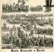 04x083.9 - Deutsche Friedensfeste in Amerika, Historical American Illustrations from Winterthur's Magnus Collection