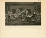 77x503 - Declaration of Independence July 4th, 1776 Version B, Historical American Illustrations from Winterthur's Magnus Collection