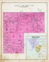 Township 17 North, Range 32 West, Robinson, Illinois River, Benton County 1903
