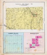 Township 21 North, Range 33 West, Sulphur Springs, Miller's Springs, Beaty, Darby Place, Bloomfield, Benton County 1903