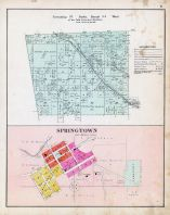 Township 21 North, Range 34 West, Springtown, Miller's Springs, Benton County 1903