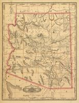 Arizona Antique Maps And Historical Atlases Historic Map Works - Mapof arizona