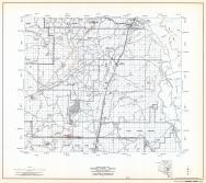 Coconino County Highway Map, Sheet 18 of 28, Navajo Indian Reservation, Coconino Natioanl Forest, Wupati NAtioanl Monument, Coconino County 1971 Highway Maps