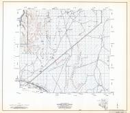Coconino County Highway Map, Sheet 2 of 28, Hualapai Indian Reservation, Aubrey Valley, Coconino County 1971 Highway Maps