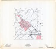 Gila County Arizona State Highway Map, Sheet 2 of 3, Globe, Gila County 1960 Highway Maps