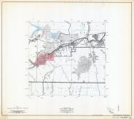 Gila County Arizona State Highway Map, Sheet 3 of 3, Miami, Central Heights, Claypool, Gila County 1960 Highway Maps