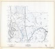 Gila County Arizona State Highway Map, Sheet 4 of 9, Ancha Experimental Forest, Gila County 1960 Highway Maps