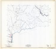 Gila County Arizona State Highway Map, Sheet 6 of 9, San Carlos, Gila County 1960 Highway Maps