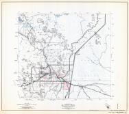 Gila County Arizona State Highway Map, Sheet 7 of 9, Globe, Claypool, Midland City, Gila County 1960 Highway Maps