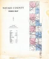 Index Map, Navajo County 1973 Highway Maps