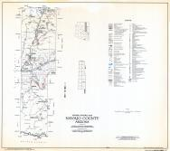 Navajo County Highway Map, Sheet 1 of 17, Fort Apache Indian Reservation, Navajo County 1973 Highway Maps
