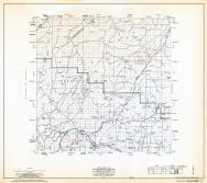 Navajo County Highway Map, Sheet 4 of 17, Heber, Navajo County 1973 Highway Maps