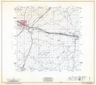 Navajo County Highway Map, Sheet 7 of 17, Winslow, Joseph City, Navajo County 1973 Highway Maps